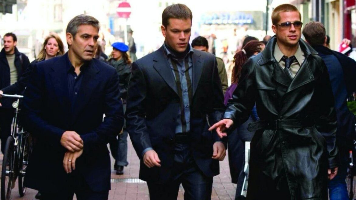 Brad Pitt And George Clooney Plan A New Hit In Ocean's Twelve At 10:10 p.m.